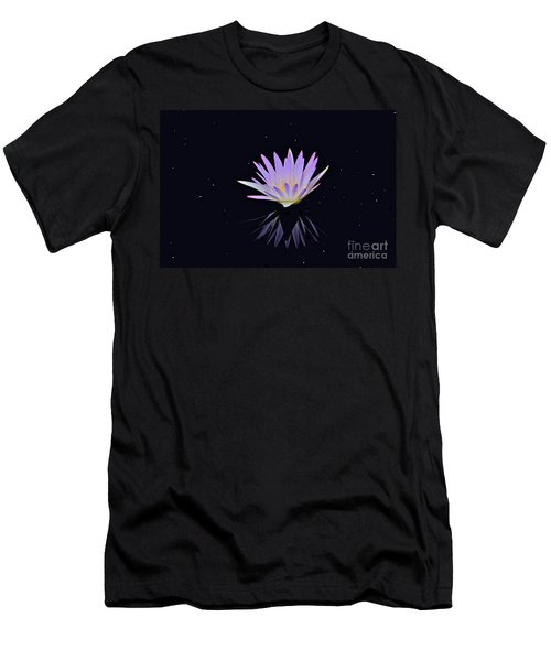 Celestial Waterlily Men's T-Shirt (Athletic Fit)