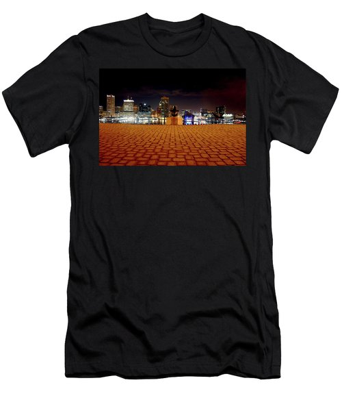Charm City Skyline Men's T-Shirt (Athletic Fit)