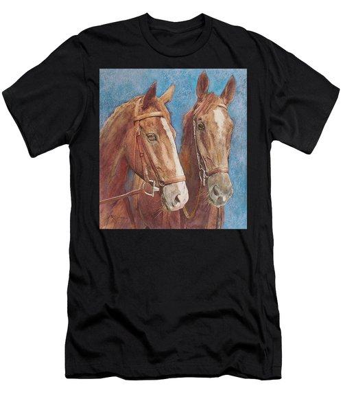 Chestnut Pals Men's T-Shirt (Athletic Fit)