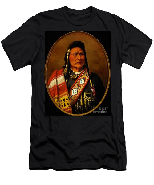 Chief Joseph Men's T-Shirt (Slim Fit) by Pg Reproductions