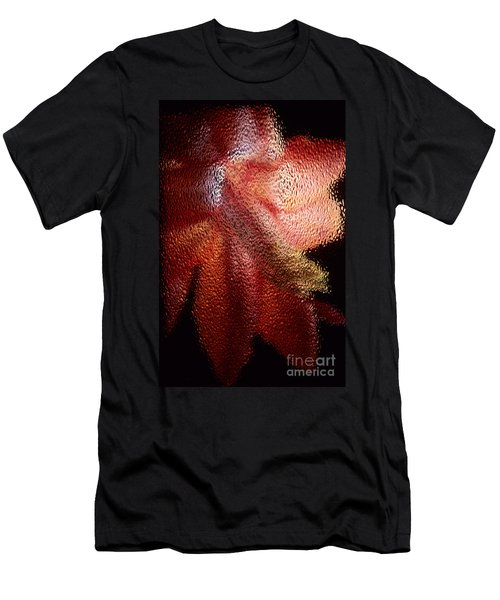 Men's T-Shirt (Slim Fit) featuring the photograph Christmas Cactus by Sharon Elliott