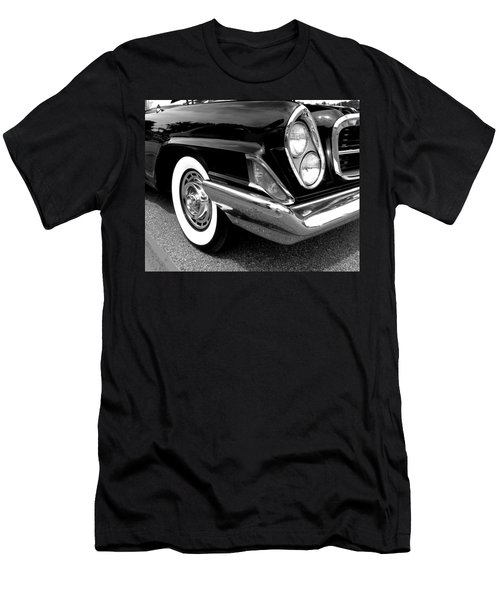 Chrysler 300 Headlight In Black And White Men's T-Shirt (Athletic Fit)