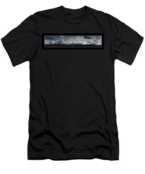 Chugach Mountains Men's T-Shirt (Athletic Fit)