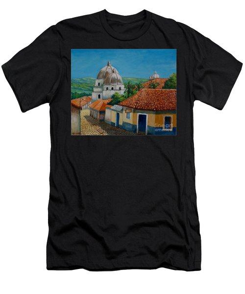 Church Of Pespire In Honduras Men's T-Shirt (Athletic Fit)