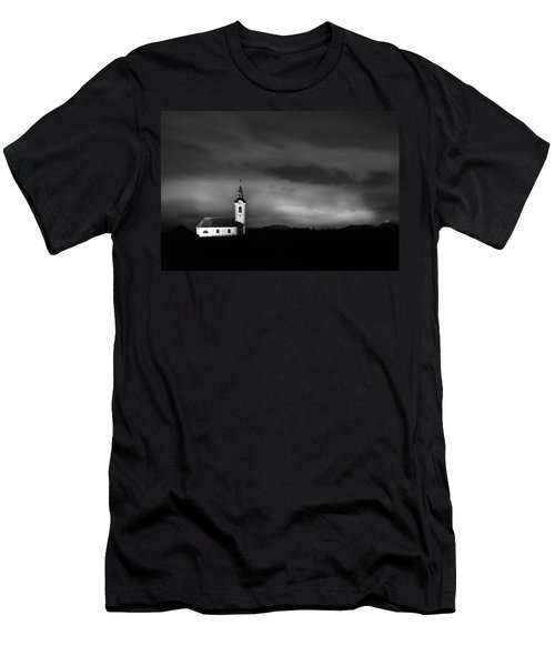 Church Shining Bright Men's T-Shirt (Athletic Fit)