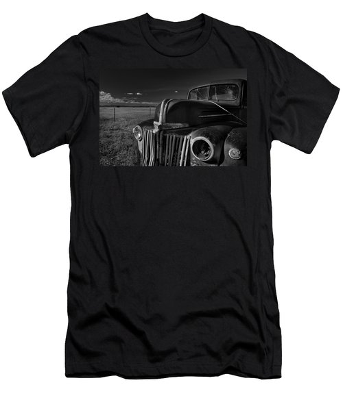 Men's T-Shirt (Athletic Fit) featuring the photograph Classic Rust by Ron Cline