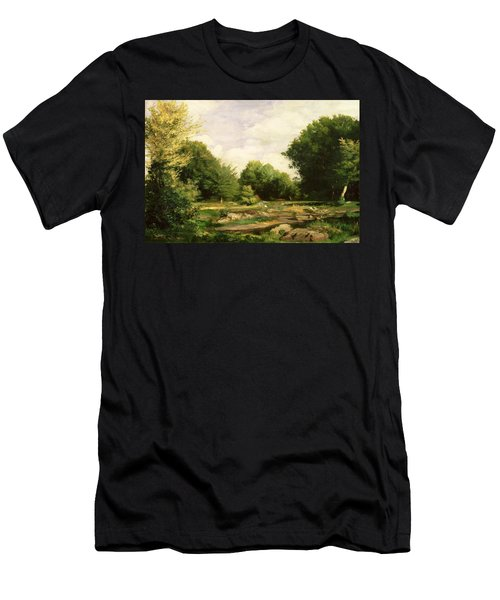 Clearing In The Woods Men's T-Shirt (Athletic Fit)