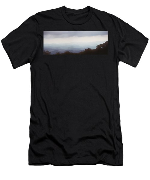 Clouds In The Mountains Men's T-Shirt (Athletic Fit)