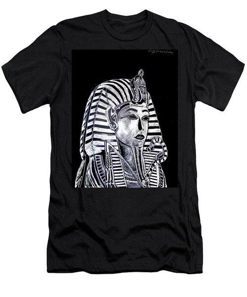 Coffin Of The King Men's T-Shirt (Slim Fit) by Lisa Brandel
