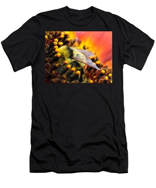 Collecting Pollen Men's T-Shirt (Slim Fit) by Vivian Christopher