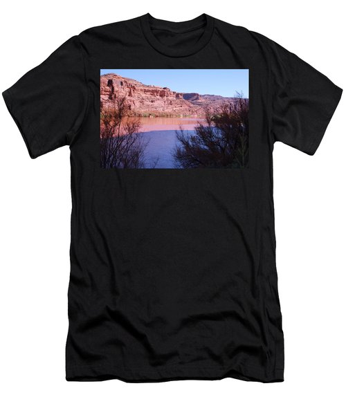 Colorado River After Rain - Utah Men's T-Shirt (Athletic Fit)