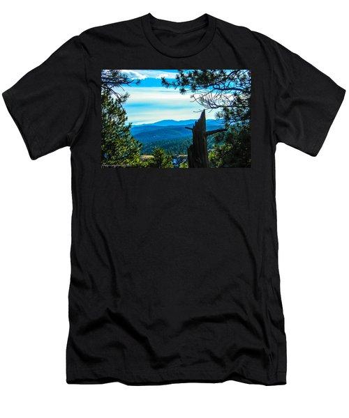 Men's T-Shirt (Slim Fit) featuring the photograph Colorado View by Shannon Harrington