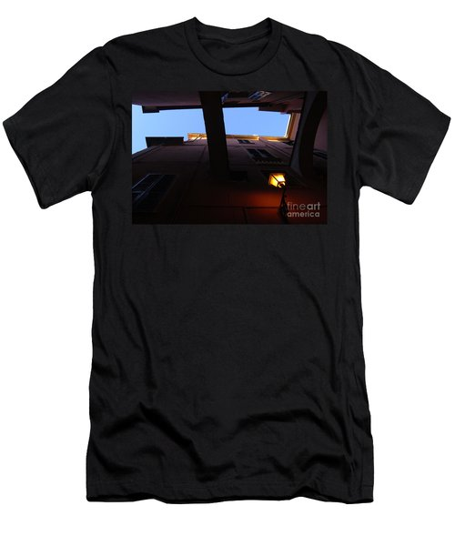 Men's T-Shirt (Slim Fit) featuring the photograph Colours Of Light II by Andy Prendy