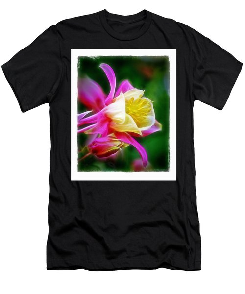 Men's T-Shirt (Slim Fit) featuring the photograph Columbine by Judi Bagwell