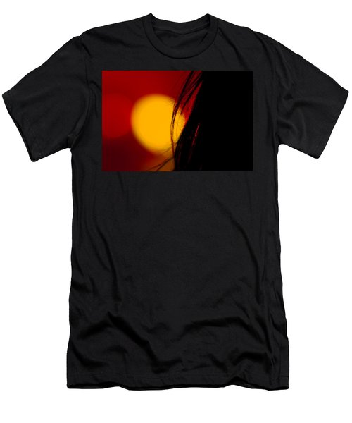 Men's T-Shirt (Slim Fit) featuring the photograph Concert Silhouette by Tom Gort