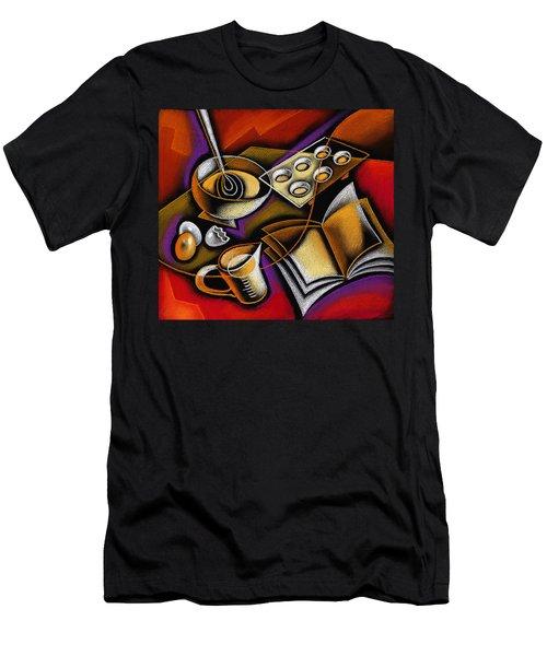 Cooking Men's T-Shirt (Slim Fit) by Leon Zernitsky