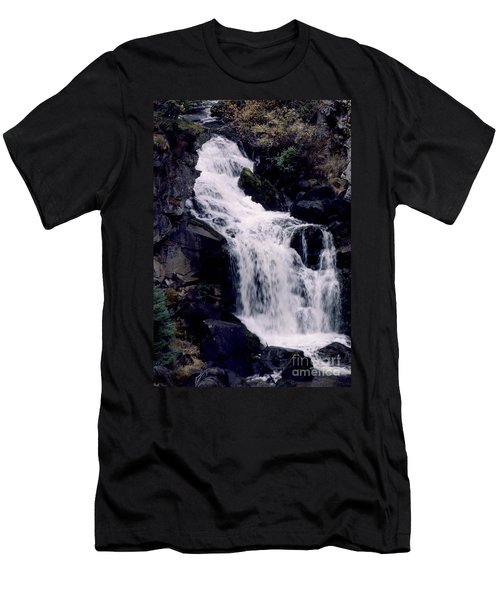 Men's T-Shirt (Slim Fit) featuring the photograph Cool Clear Waters by Sharon Elliott