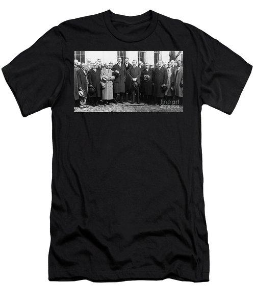 Coolidge: Freemasons, 1929 Men's T-Shirt (Slim Fit) by Granger
