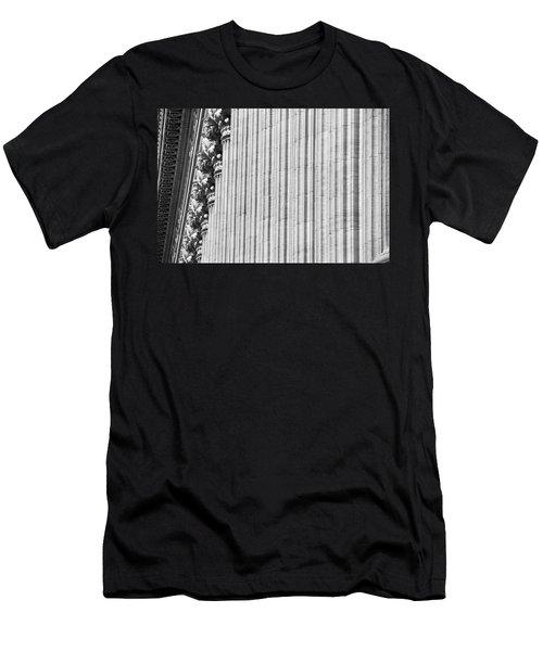 Men's T-Shirt (Slim Fit) featuring the photograph Corinthian Columns by John Schneider