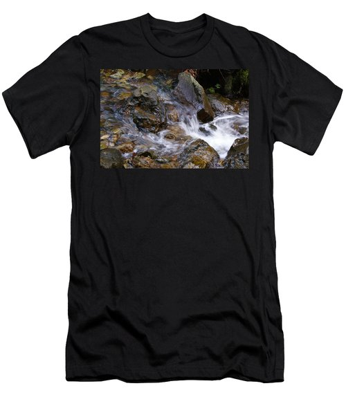 Creek Scene On Mt Tamalpais Men's T-Shirt (Athletic Fit)