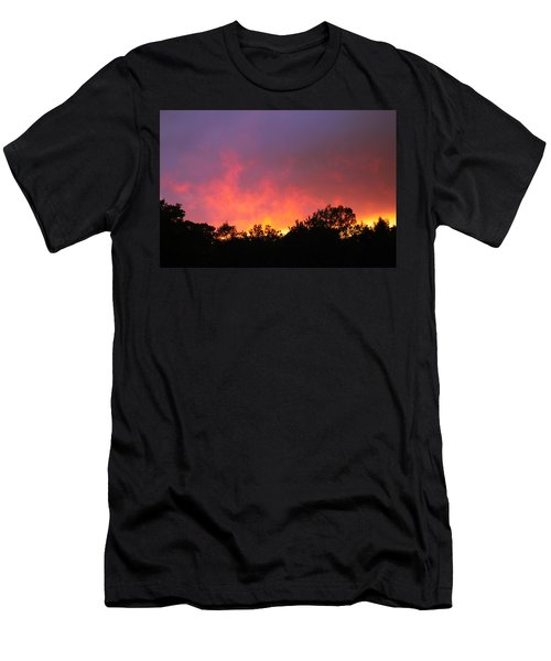 Men's T-Shirt (Slim Fit) featuring the photograph Crepuscule by Bruce Patrick Smith