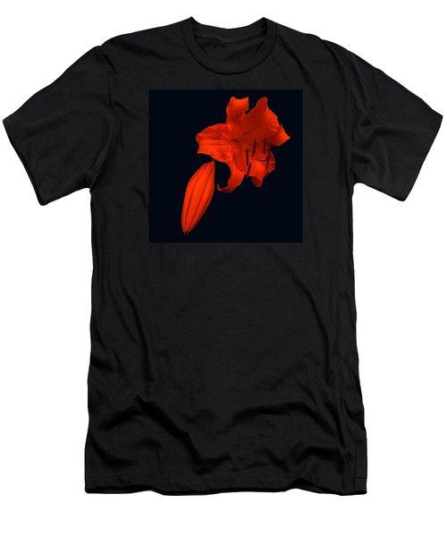 Crimson Lily Men's T-Shirt (Athletic Fit)