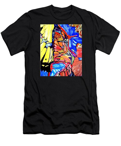 Butterflies Wings  Men's T-Shirt (Athletic Fit)