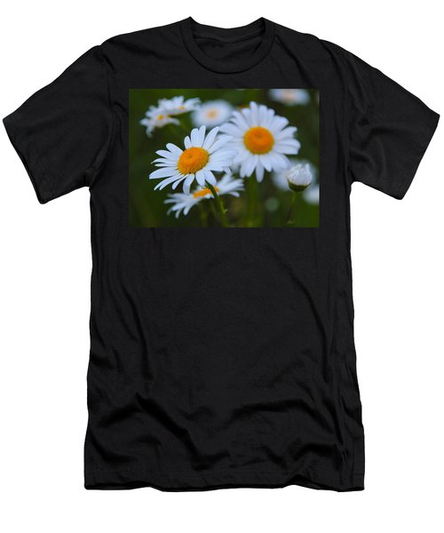 Men's T-Shirt (Slim Fit) featuring the photograph Daisy by Athena Mckinzie