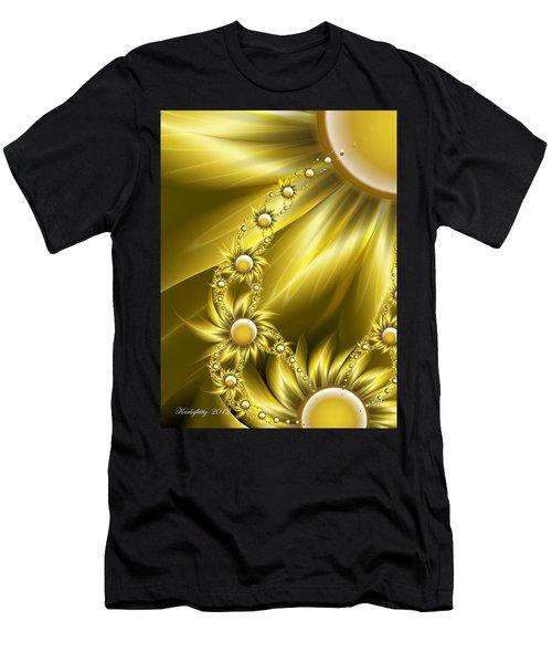 Daisy Sunshine Men's T-Shirt (Athletic Fit)