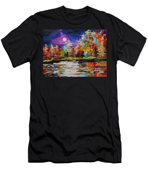 Dance On The Pond Men's T-Shirt (Athletic Fit)
