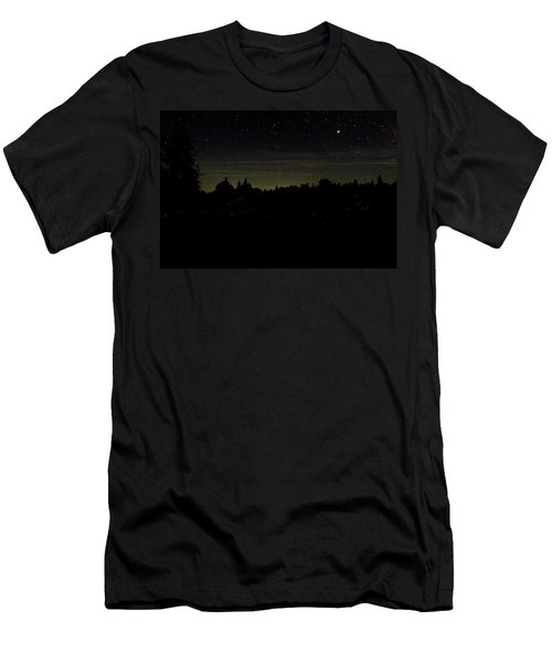 Dancing Fireflies Men's T-Shirt (Slim Fit) by Brent L Ander