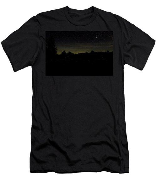 Dancing Fireflies Men's T-Shirt (Athletic Fit)