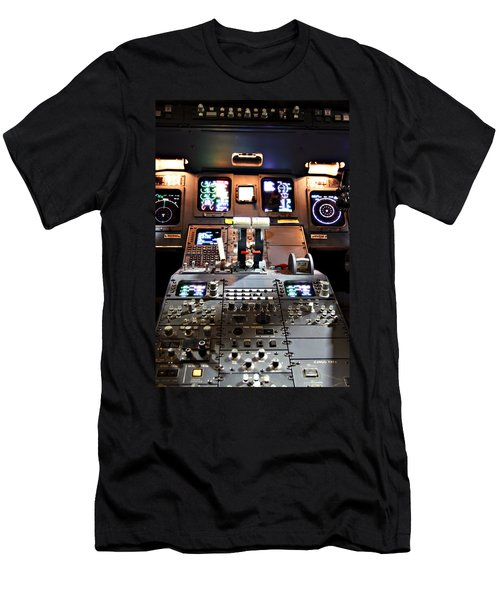 Dashboard Lights Men's T-Shirt (Athletic Fit)