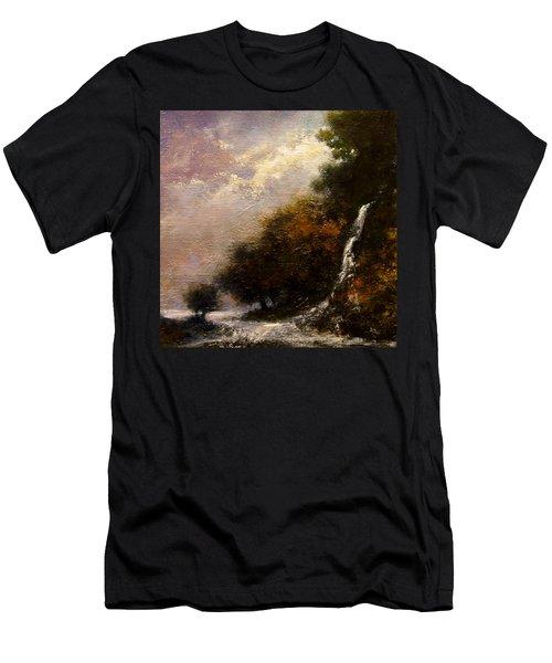 Daybreak Falls Men's T-Shirt (Athletic Fit)