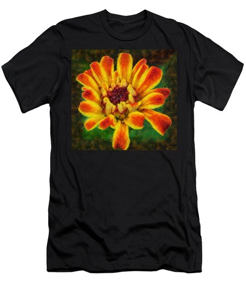 Dazzling Zinnia Men's T-Shirt (Athletic Fit)