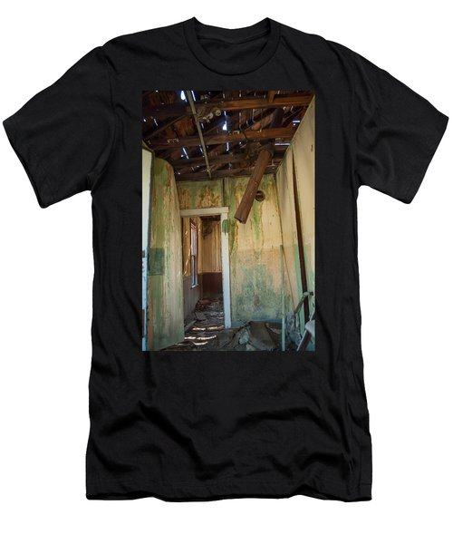 Men's T-Shirt (Slim Fit) featuring the photograph Deterioration by Fran Riley