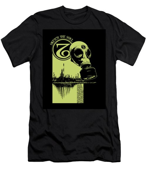 Digging Up The Past Men's T-Shirt (Slim Fit) by Tony Koehl