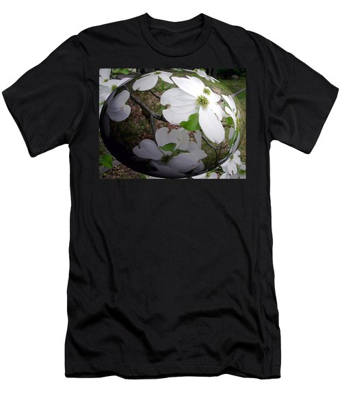 Dogwood Under Glass Men's T-Shirt (Athletic Fit)