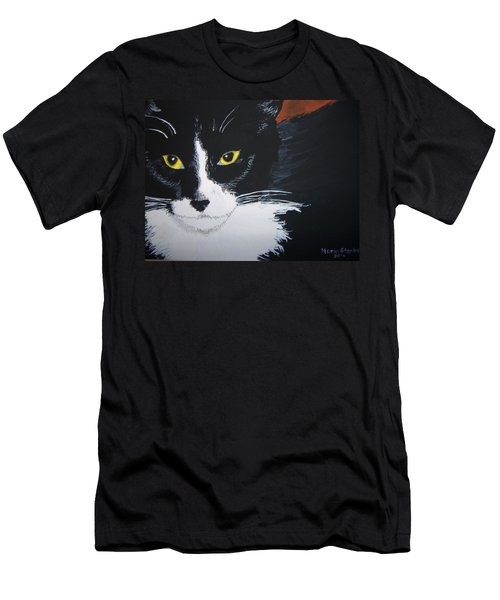 Men's T-Shirt (Slim Fit) featuring the painting Don't Bug Me by Norm Starks
