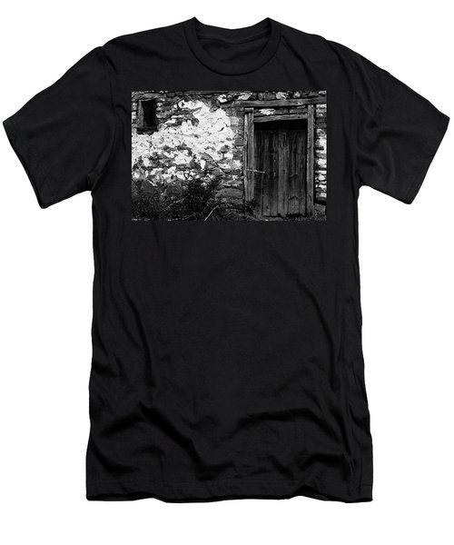 Door  Window And The Wall  Men's T-Shirt (Athletic Fit)