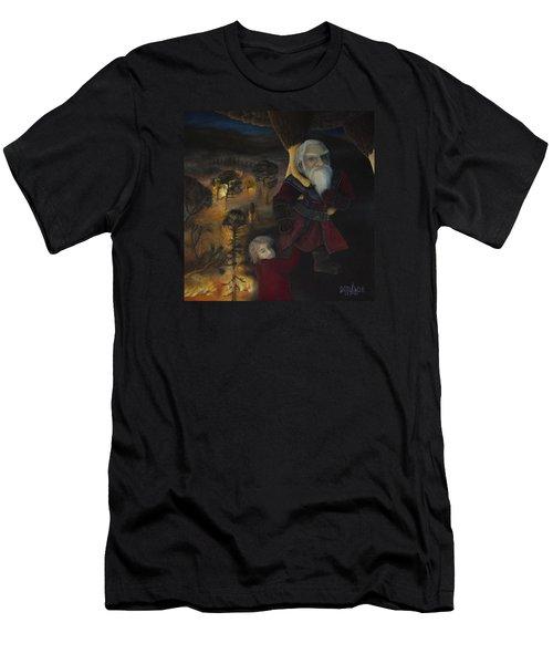 Men's T-Shirt (Slim Fit) featuring the painting Dori  by Joshua Martin