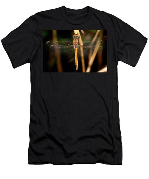Men's T-Shirt (Slim Fit) featuring the photograph Dragon Fly 1 by Pedro Cardona