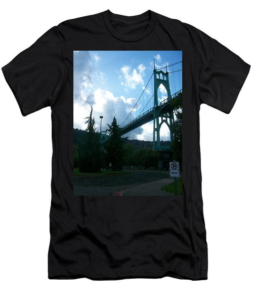 Dramatic St. Johns Men's T-Shirt (Athletic Fit)