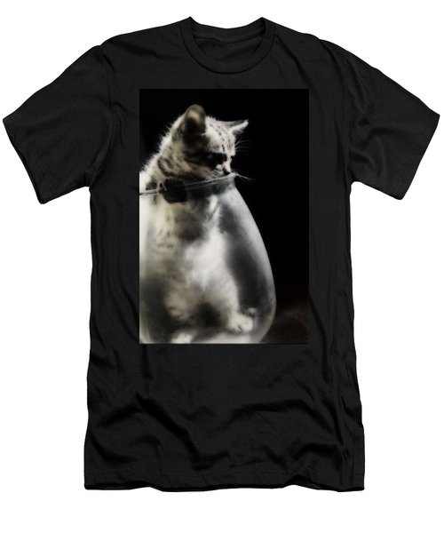 Men's T-Shirt (Slim Fit) featuring the photograph El Kitty by Jessica Shelton