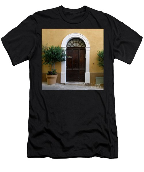Men's T-Shirt (Slim Fit) featuring the photograph Enchanting Door by Lainie Wrightson