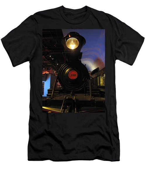 Engine No. 132 Men's T-Shirt (Slim Fit) by Keith Stokes
