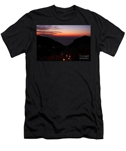 Estellencs View Men's T-Shirt (Athletic Fit)