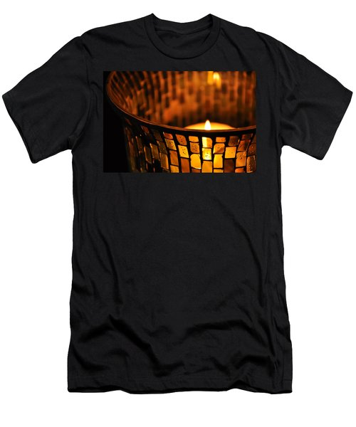 Evening Light Men's T-Shirt (Slim Fit) by Julia Wilcox
