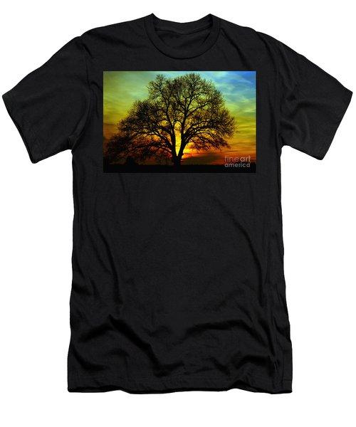 Evening Palette Men's T-Shirt (Athletic Fit)