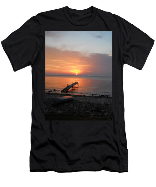 Evening Rest Men's T-Shirt (Athletic Fit)